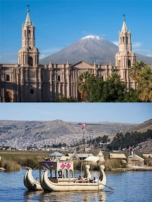 Arequipa to Puno Route 4M Express
