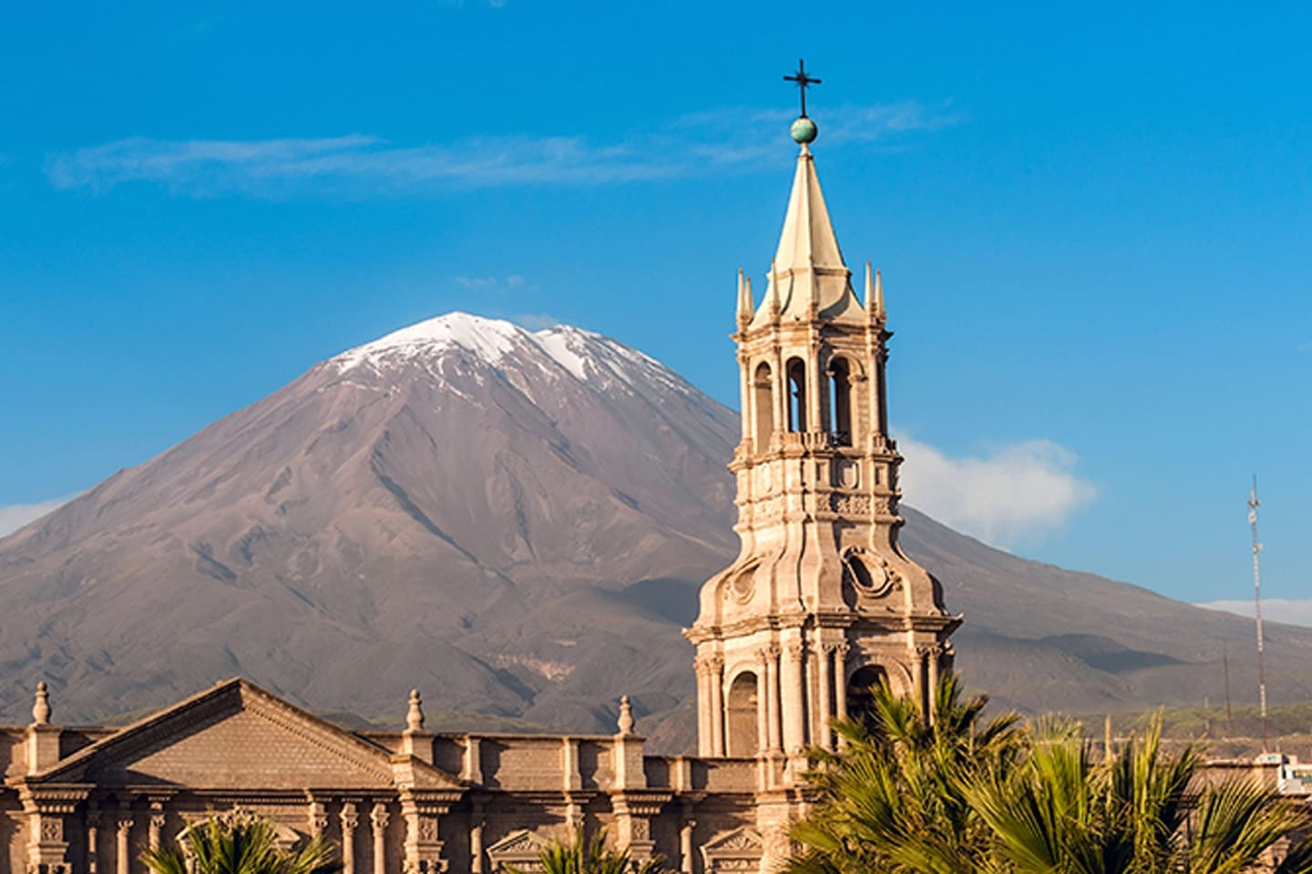 city, World Cultural heritage, historical, achitectures, Arequipa, 4M Express Bus Peru