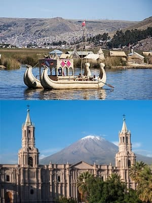 Puno to Arequipa Route 4M Express
