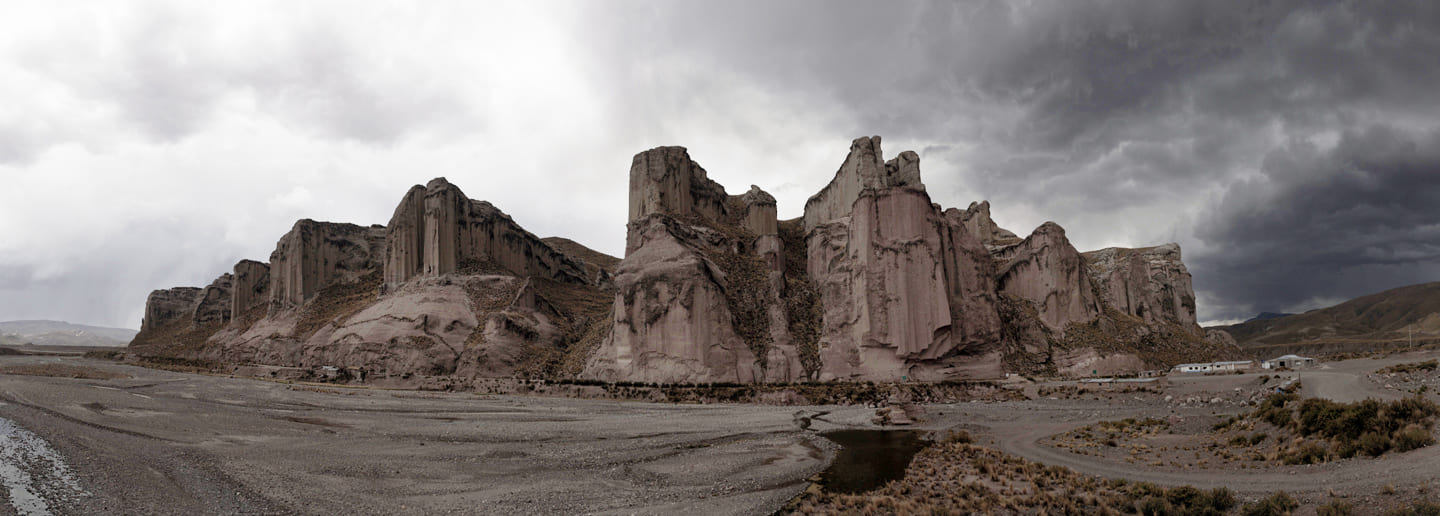large rocks, erosion, mountain, landscapem nature - Callali - Peru